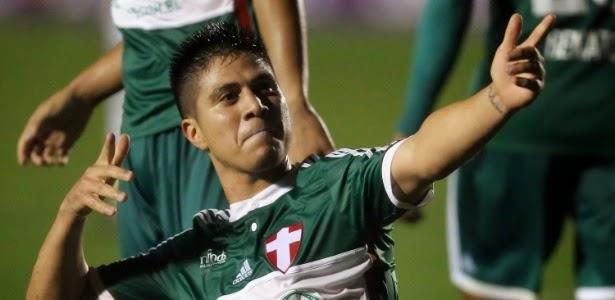 Cristaldo decide e Palmeiras vence o Penapolense pelo Paulista