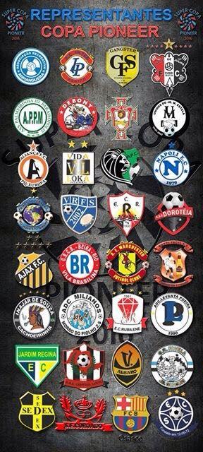 Exclusivo! Conheça as 32 equipes que vão disputar a Supercopa Pioneer 2016