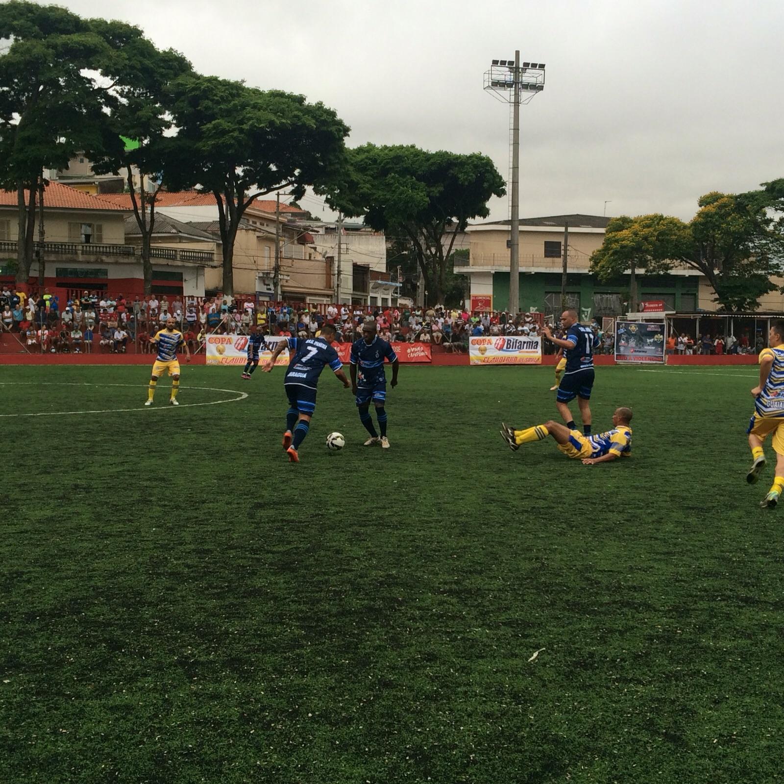 São Carlos vence Ipanema nos pênaltis e se classifica para a próxima fase da Copa Bifarma 2015