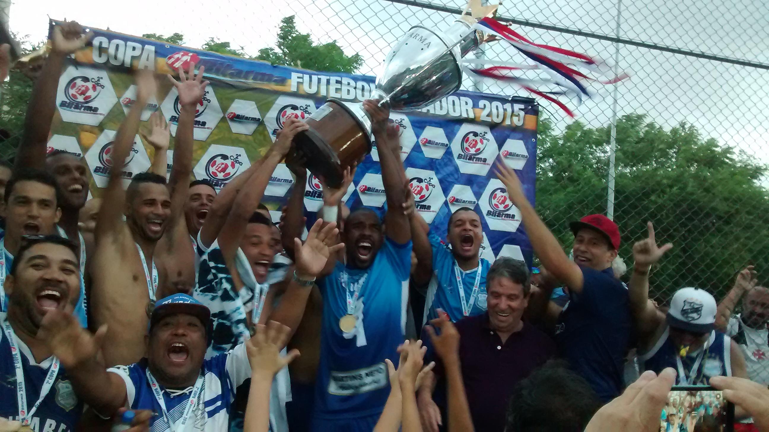 Vila Izabel confirma vantagem e fica com o título da Copa Bifarma 2015
