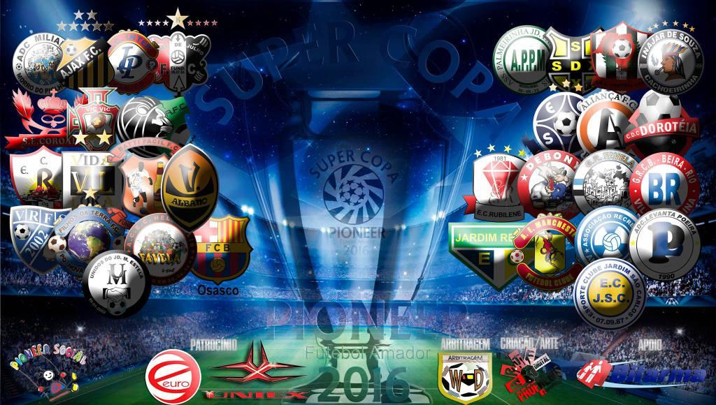 Definidas as quartas de final de sábado da Super Copa Pioneer