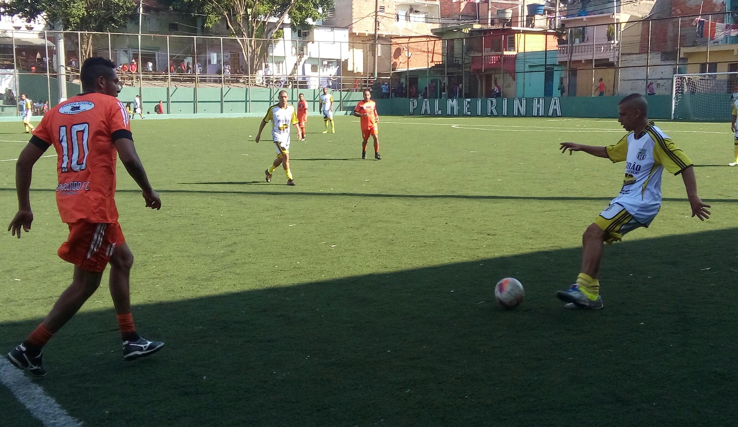 Em partida movimentada, Santa Emília empata com Bem Bolado pela Copa da Paz Veteranos