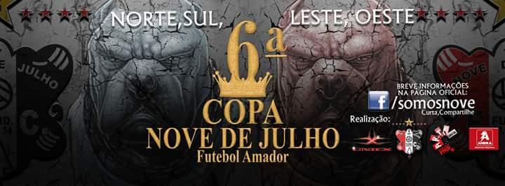 Definidos os confrontos da fase geral da 6ª Copa Nove de Julho