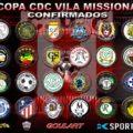 Definidos os grupos da 12ª Copa Missionária de Futebol Amador