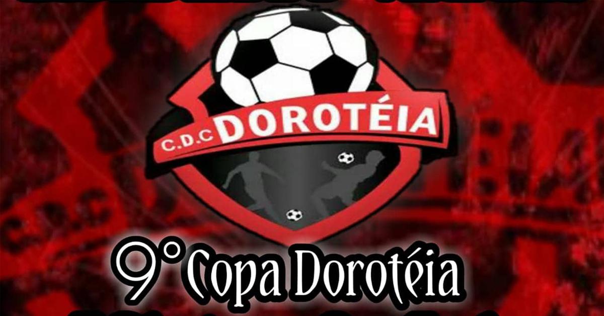 Definidos os grupos da 9ª Copa Doroteia de Futebol Amador
