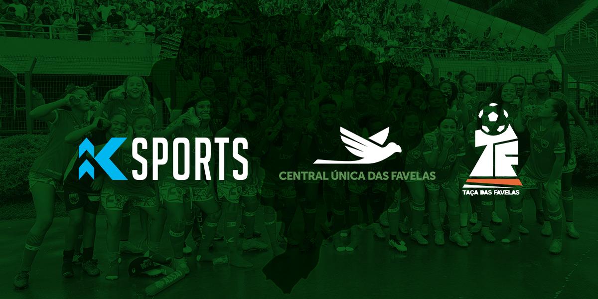 King Sports e CUFA fecham parceria para Taça das Favelas 2020
